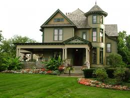 architecture beauteous flowers in victorian house styles