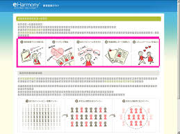 The   steps in eHarmony Japan     s questionnaire  Breaking the online dating sound barrier   blogger