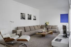 Leather Chairs Living Room by Living Room Modern Living Room Lounge Chairs With White Fabric