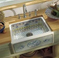 TILED BATHROOM SINKS BATHROOM TILE Kitchen Pinterest Apron - French kitchen sinks