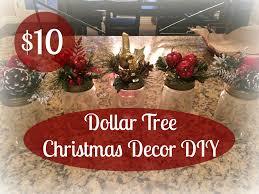 Christmas Decorations Diy by 10 00 Dollar Tree Christmas Decor Diy Youtube