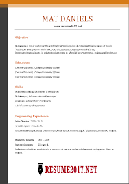 Best It Resume Sample by Resume Format Example Free Chronological Resume Template Http