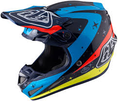 troy lee designs motocross helmet troy lee designs lps 7605 troy lee designs se3 neptune blue red
