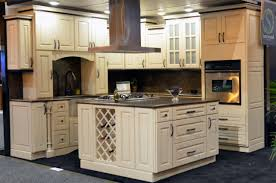 Wine Rack Kitchen Island by Amazing Cream Color Plywood Kitchen Cabinets Come With Square