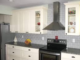 Glass Kitchen Backsplash Gray Brick Backsplash Nana U0027s Workshop