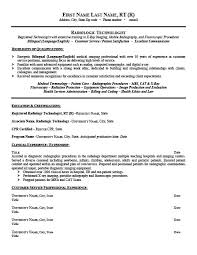 Sample Medical Technologist Resume by Radiologic Technologist Resume Template Premium Resume Samples