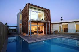 Raised Beach House by Small Pool House Designs On Modern Tropical House Design Floor Plans