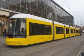 Trams in Berlin