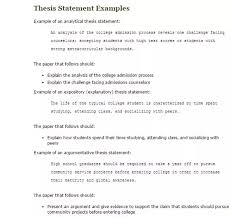 english critical essay help Resume Examples Analysis Essay Thesis How To Write A Thesis Statement For A