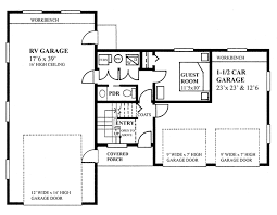 traditional style house plan 2 beds 1 5 baths 1173 sq ft plan