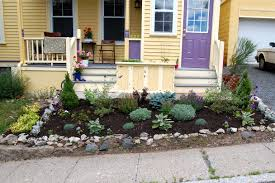 Small Rock Garden Pictures by Lawn U0026 Garden Natural Green Seagrass Landscaping For Front Yard