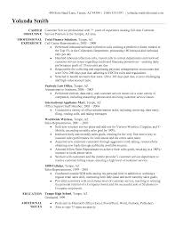 Sample Resume For Customer Service Representative In Retail With Additional Skills  Formal Business Email     Resume Daily