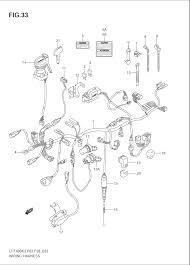 2004 suzuki eiger 2wd ltf400 wiring harness parts best oem