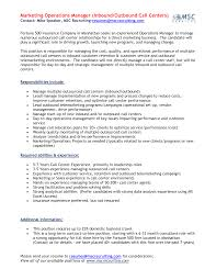 Call Center Resume Example  resume template resume fast food the     happytom co