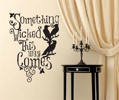 compare prices on ravens wall decals online shopping buy low yingkai something wicked this way comes ravens living room vinyl wall decal sticker for halloween party