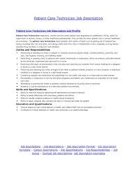 Entry Level Position Cover Letter Cover Letter For Entry Level Patient Care Technician