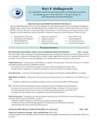 Resume Headline Examples by Marc Hollingworth Director Of Sales And Marketing Resume M