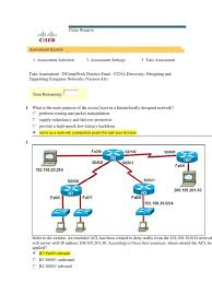 ccna discovery 4 practice final 5 06 12 computer network