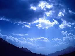 Por qué el cielo es azul? - cielo_azul