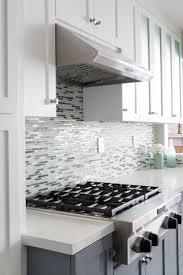 Kitchen Design Backsplash Interior Design Mosaic Tile Backsplash With White Kraftmaid