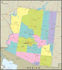 Payson Arizona Map by Arizona Counties And Road Map Of Arizona And Arizona Details
