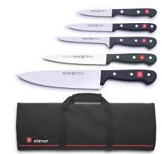 Uk Kitchen Knives by Wusthof Gourmet 5 Piece Knife Bag U2013 Mychefknives Co Uk