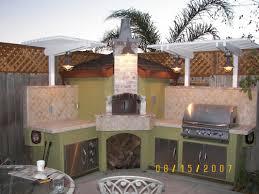 outdoor kitchen decorating design ideas using white wood kitchen