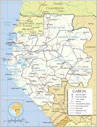 Africa Google Maps by Administrative Map Of Gabon 1200 Pixel Nations Online Project