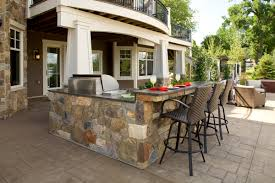 outdoor kitchen designs for small spaces dining room appealing