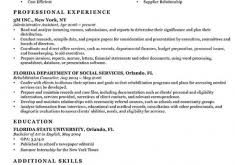 Sample Federal Government Resume by Cozy Inspiration Sample Federal Resume 11 Federal Resume Format