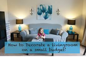 How To Decorate A Living Room On A Really Small Budget YouTube - Small living room furniture design