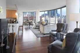 One Bedroom Apartments Chicago Spacious Apartments East Bank Club Access At River North U0027s