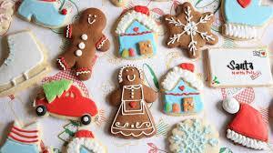cute christmas cookies wallpaper
