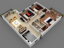 Floor Plan House 3 Bedroom 3 Bedroom Flat House Plan Chuckturner Us Chuckturner Us