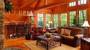log cabin themed decorating charles cunniffe architects steve