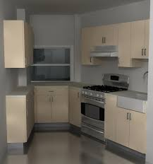 a functional ikea kitchen design for an angled space