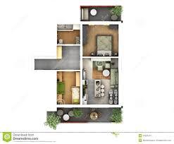 3d Floor Plans by 3d Floor Plan Stock Photo Image 37626510