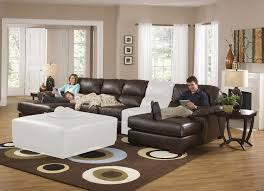 furniture create your living room with cool sectional recliner