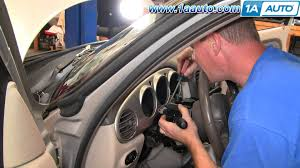 how to install replace wiper turn signal high beam switch chrysler