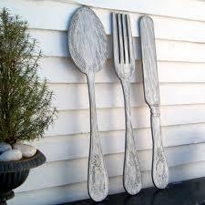 Target Kitchen Knives Spoon Fork Knife Sign Extra Large Kitchen Sign Wall Hanger Wooden