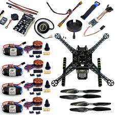 f19457 a s600 diy fpv drone 4 axis quadcopter welded kit