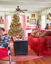 Christmas Home Decorations Pictures 100 Country Christmas Decorations Holiday Decorating Ideas 2017