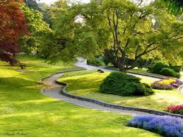 Il parco fiorito