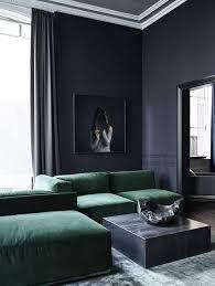Green Sofa Living Room Ideas 30 Dark Moody Living Room Décor Ideas Digsdigs