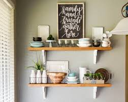 Kitchen Shelving French Country Shelf Etsy