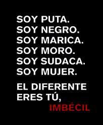 Todos somos IGUALES, todos somos diferentes.