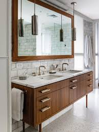 Bathroom Wall Shelving Ideas by Wall Cabinets For Bathroom White Wall Paint Glossy Walnut Wooden