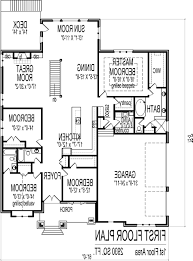 Simple 4 Bedroom House Plans by Home Design 4 Bedroom Mobile Floor Plans Stephniepalma Com