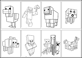 coloring download minecraft coloring pages of steve minecraft