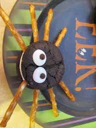 easy halloween spider cookies the pink apron